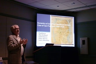 Photo of presentation at AAG 2011