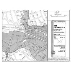 Sample of an outdated digital Flood Insurance Rate Map (dFIRM)