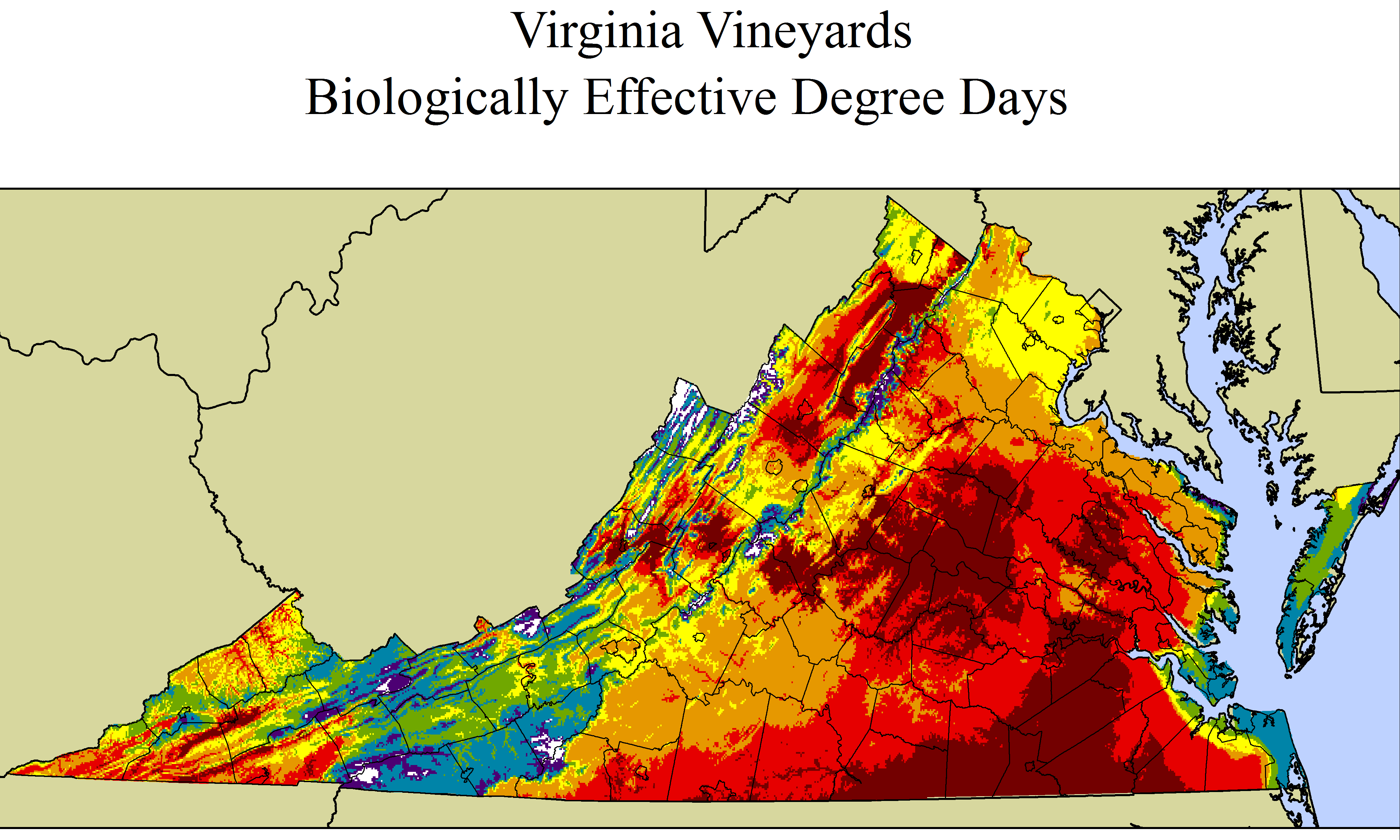 """Improved grape and wine quality in a challenging environment: An eastern US model for sustainability and economic vitality"" Site assessment reports vineyard sustainability for eastern states."