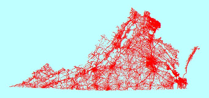 CGIT is creating a spatial database of geolocated crashes. Almost one million crash records geocoded since 2011.